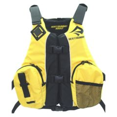 Sea to Summit Fishing multifit pfd yellow
