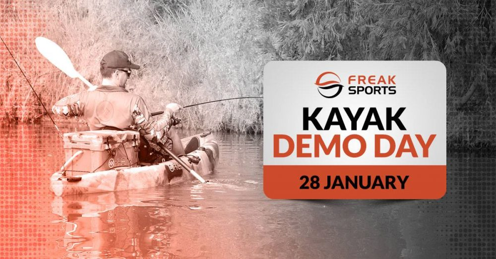 Elite Kayak Demo Day