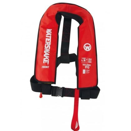 Watersnake Manual Inflatable PFD Level 150 Red