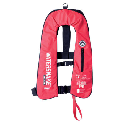 Watersnake Deluxe Inflatable PFD Level 150