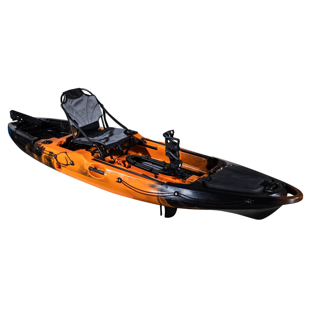 Revolve 10 Pedal Fishing Kayak Flame