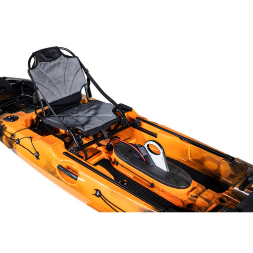 Revolve 10 Pedal Fishing Kayak Flame