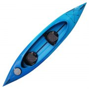 Mission ACCESS 400 Tandem Sit-In Kayak blue