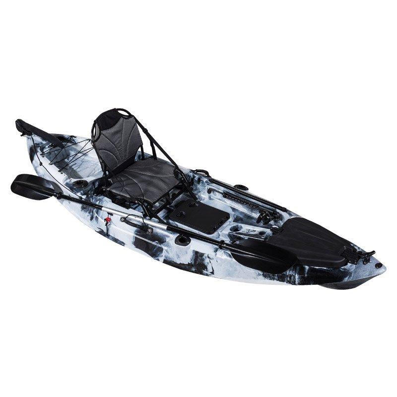Roadster 10 Pedal Fishing Kayak BlacknWhite
