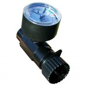 Advanced Elements Inline Valve Adaptor With High Pressure Gauge