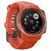 Garmin Instinct Outdoor GPS Watch Flame Red