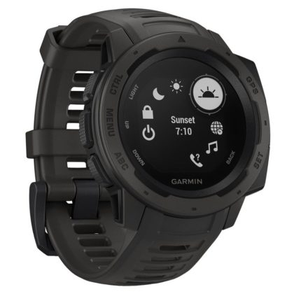 Garmin Instinct Outdoor GPS Watch Graphite