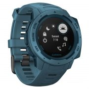 Garmin Instinct Outdoor GPS Watch Lakeside Blue