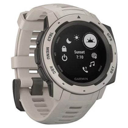 Garmin Instinct Outdoor GPS Watch Tundra