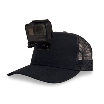 BerleyPro Actionhat Black Mesh Curve Bill