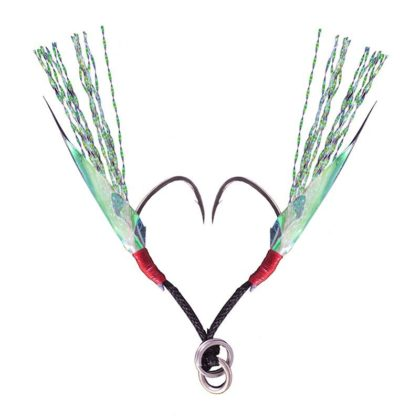 Decoy Fiber Light Game Twin Jigging Hooks