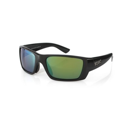 Tonic Rise Slice Fishing Sunglasses Green Mirror