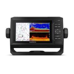 Garmin ECHOMAP 65cv UHD with GT24UHD-TM Transducer