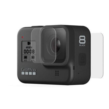 GoPro Tempered Glass Lens + Screen Protectors for HERO8 Camera