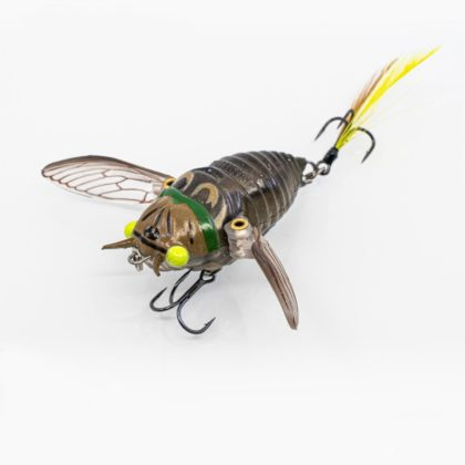 Chasebaits Ripple Cicada Hollow Body Soft Lure Bright Eyes