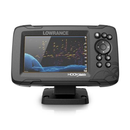 Lowrance HOOK Reveal 5x Fishfinder SplitShot with DownScan and GPS Plotter
