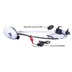 "Watersnake Fierce 54lb/48"" Remote Bow Mount Electric Motor"