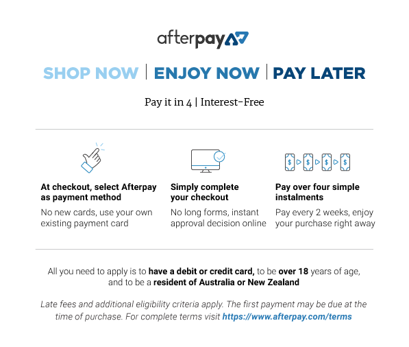 Afterpay Info