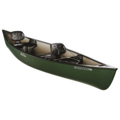 Old Town Saranac 146 XT Recreational Family Canoe - Green