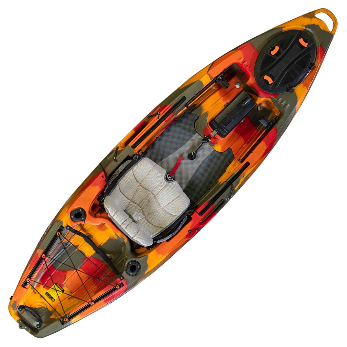 Feelfree Lure 10 Fishing Kayak Fire