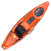 Feelfree Moken 10 Lite Fishing Kayak Orange Camo
