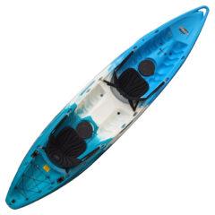 Feelfree Gemini Recreational Tandem Kayak Ice Cool