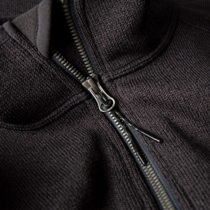 Gill Men's Knit Fleece Jacket Graphite