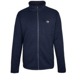 Gill Men's Knit Fleece Jacket Navy