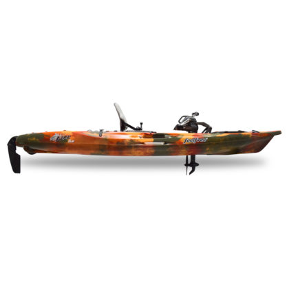 Feelfree Lure 11.5 Overdrive Fishing Kayak Fire Camo