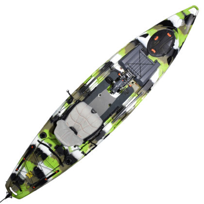 Feelfree Lure 13.5 Overdrive Fishing Kayak Lime Camo