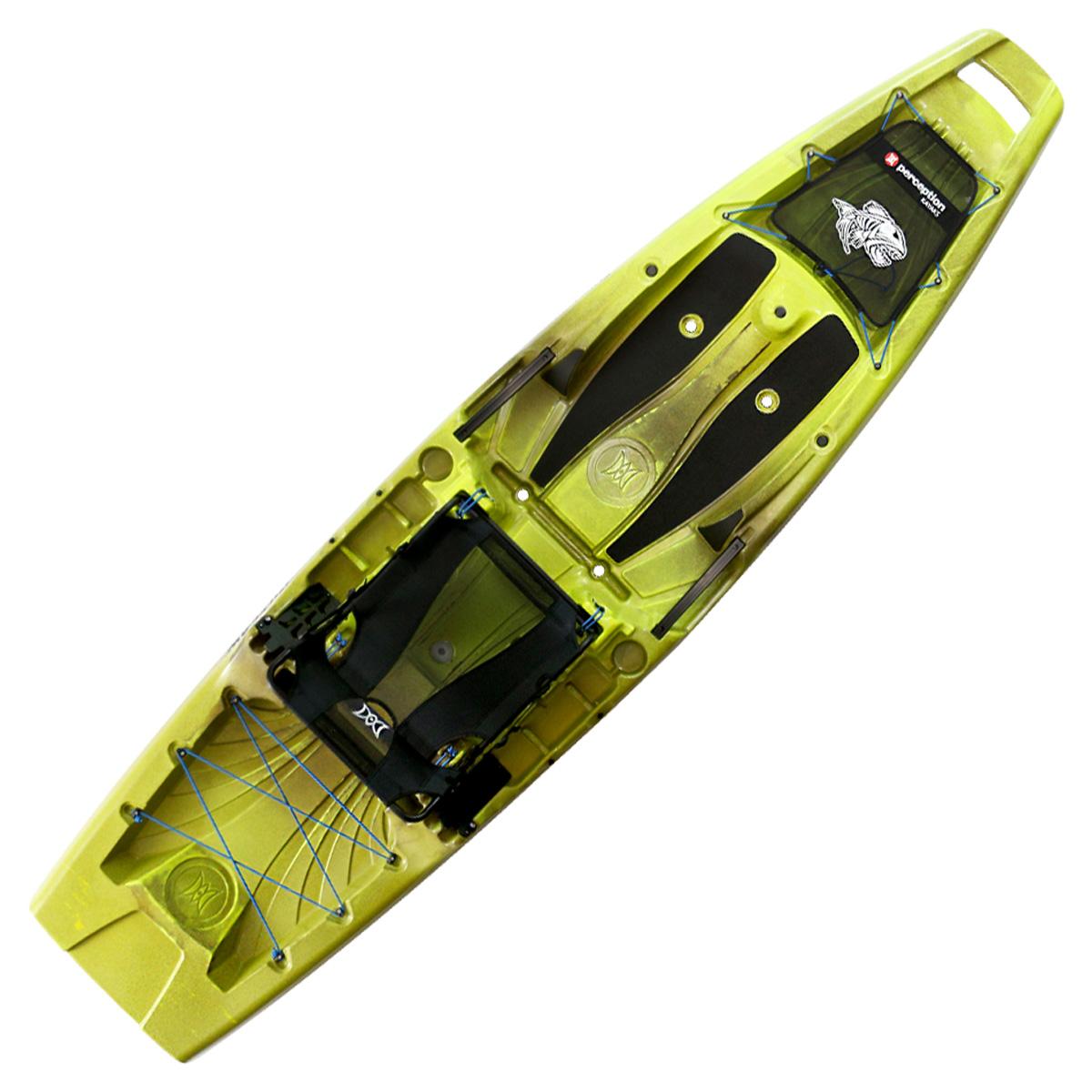 Perception Outlaw 11.5 Fishing Kayak Grasshopper