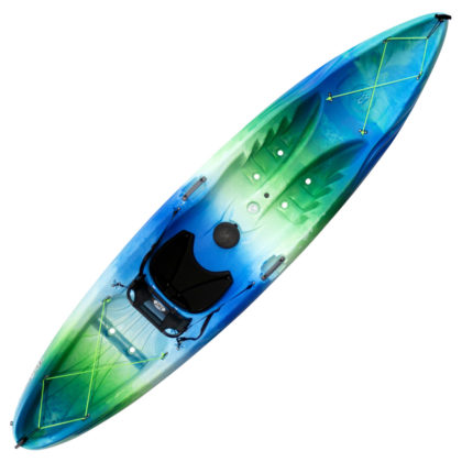 Perception Tribe 11.5 Recreational Kayak Deja Vu