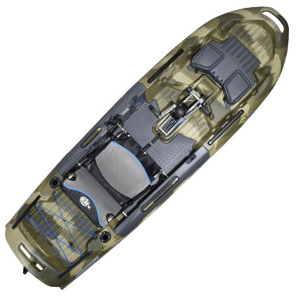 3 Waters Big Fish 108 Fishing Kayak Terra Camo