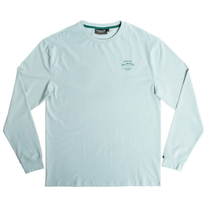 Desolve Bow LS Tee Dawn Blue