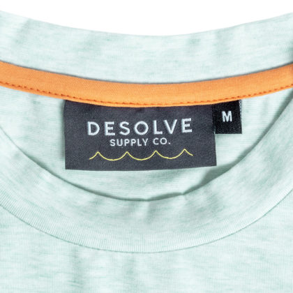 Desolve Catch and Release Tee Blue Marl