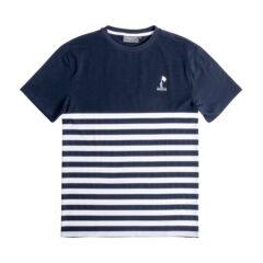 Desolve Coward Tee Navy Stripe