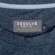 Desolve Hook and Line Sweater Navy Marl