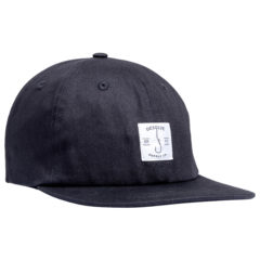 Desolve Hooked Cap Black
