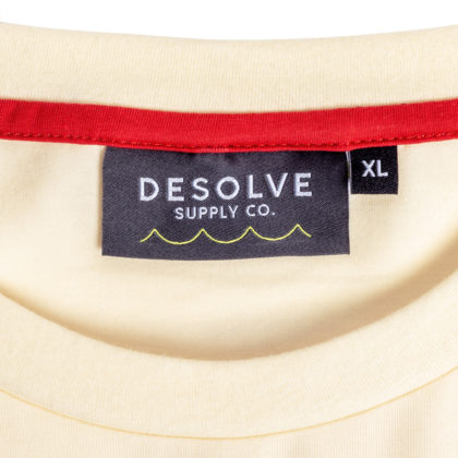 Desolve Loose Lips LS Tee Yellow