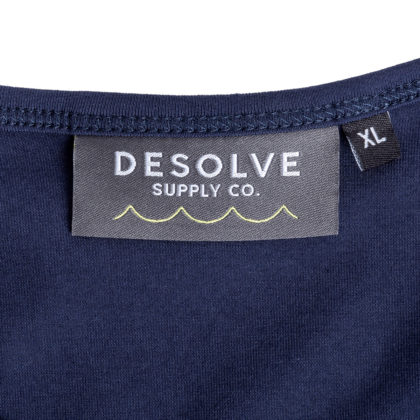 Desolve Sink or Swim Singlet Navy