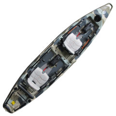 Feelfree Lure II Tandem Fishing Kayak Desert Camo