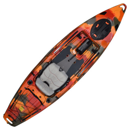 Feelfree Lure 11.5 Fishing Kayak Fire Camo