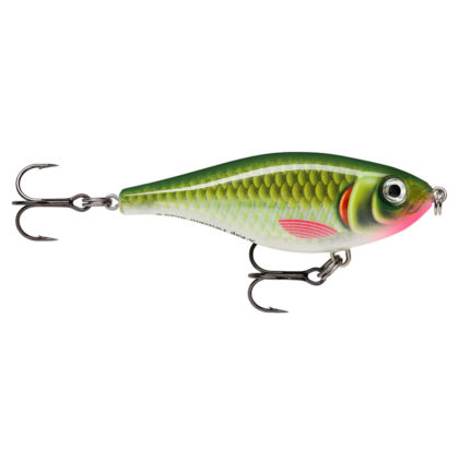 Rapala X-Rap Twitchin Shad Fishing Lure Olive Ghost