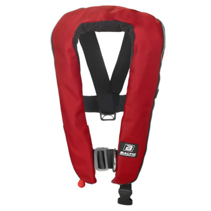 Baltic Winner 150 Zip Inflatable PFD with Harness Red