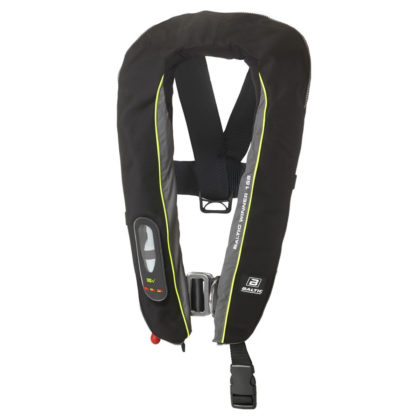 Baltic Winner 165 Inflatable PFD with Harness Black/Grey