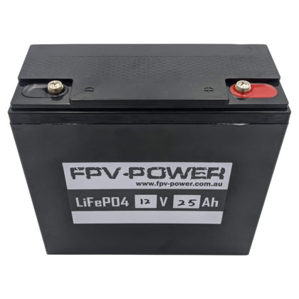 FPV-POWER 12V Lithium LiFePO4 Battery and Charger Combo