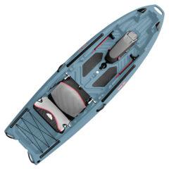 Jonny Boats Bass 100 Fishing Kayak Blue Gray