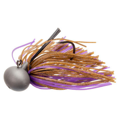 Keitech Model 2 Tungsten Football Jig Brown Purple