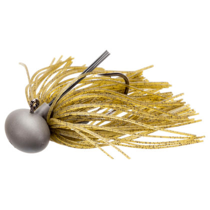 Keitech Model 2 Tungsten Football Jig Green Pumpkin PP