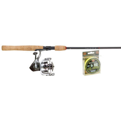 Quantum Throttle Rod with TH40 Spinning Reel Combo